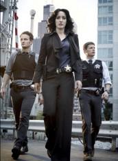 Jason Clarke, Jennifer Beals and Matt Lauria in THE CHICAGO CODE - Season One   ©2010 Fox Broadcasting Co./Justin Stephens