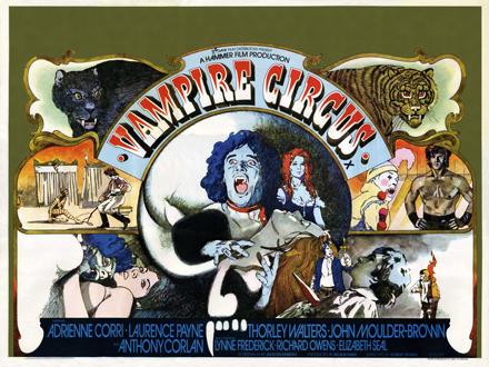 Vampire Movies Poster Vampire Circus Movie Poster