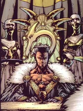 Azazel from THE UNCANNY X-MEN | ©2011 Marvel Comics ...