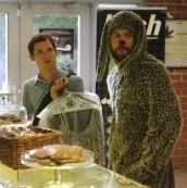 "Elijah Wood and Jason Gann in WILFRED - Season 1 - ""Sacrifice"" | ©2011 FX/Ray Mickshaw"