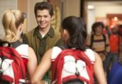 "Heather Morris, Naya Rivera and Damian McGinty in GLEE - Season 3 - ""Pot O'Gold"" | ©2011 Fox/Adam Rose"