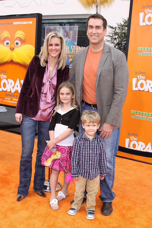 Роб шнайдер фото с женой и детьми