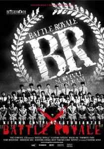 BATTLE ROYALE movie poster | ©2000 Tartan