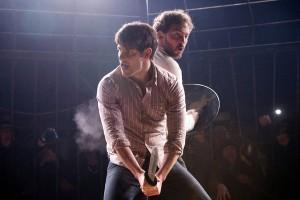 "David Giuntoli and Silas Weir Mitchell in GRIMM - Season 1 - ""Last Grimm Standing"" | ©2012 NBC/Scott Green"