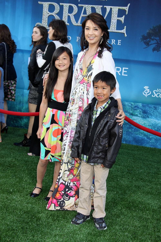 Family photo of the actress famous for  6 Miranda Drive & April Rain.