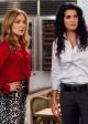 "Sasha Alexander and Angie Harmon in RIZZOLI & ISLES - Season 3 - ""Throwing Down the Gauntlet"" | ©2012 TNT/Doug Hyun"