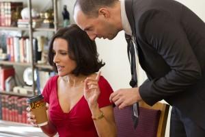 Julia Louise Dreyfuss and Tony Hale in VEEP - Season 1 | ©2012 Bill Gray