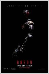 DREDD movie poster   ©2012 Lionsgate