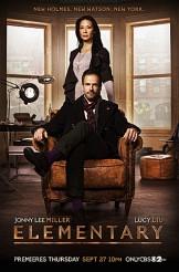 ELEMENTARY - Season 1 poster | ©2012 CBS