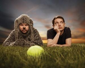 Jason Gann and Elijah Wood in WILFRED - Season 2 | ©2012 FX
