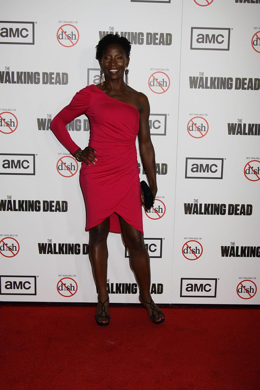 Danai Gurira At The Premiere Screening For Walking Dead Season
