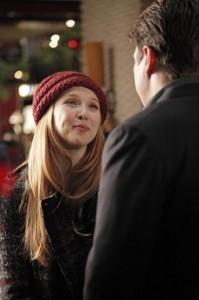 "Molly Quinn and Nathan Fillion in CASTLE - Season 5 - ""Secret Santa"" | ©2012 ABC/Richard Cartwright"