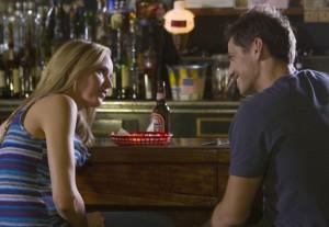 """Jordana Spiro and James Carpinello in THE MOB DOCTOR - Season 1 - """"Sibling Rivlary""""   ©2012 Fox/Chuck Hodes"""