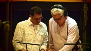 Michael Giacchino (L) Conductor Tim Simonec (R) | ©2013 Michael Giacchino