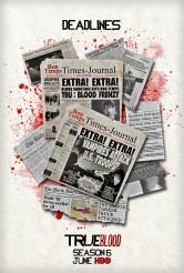 TRUE BLOOD - Season 6 poster   ©2013 HBO