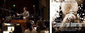 Abel Korzeniowski / ESCAPE FROM TOMORROW soundtrack | ©2013 Sugar Free Media
