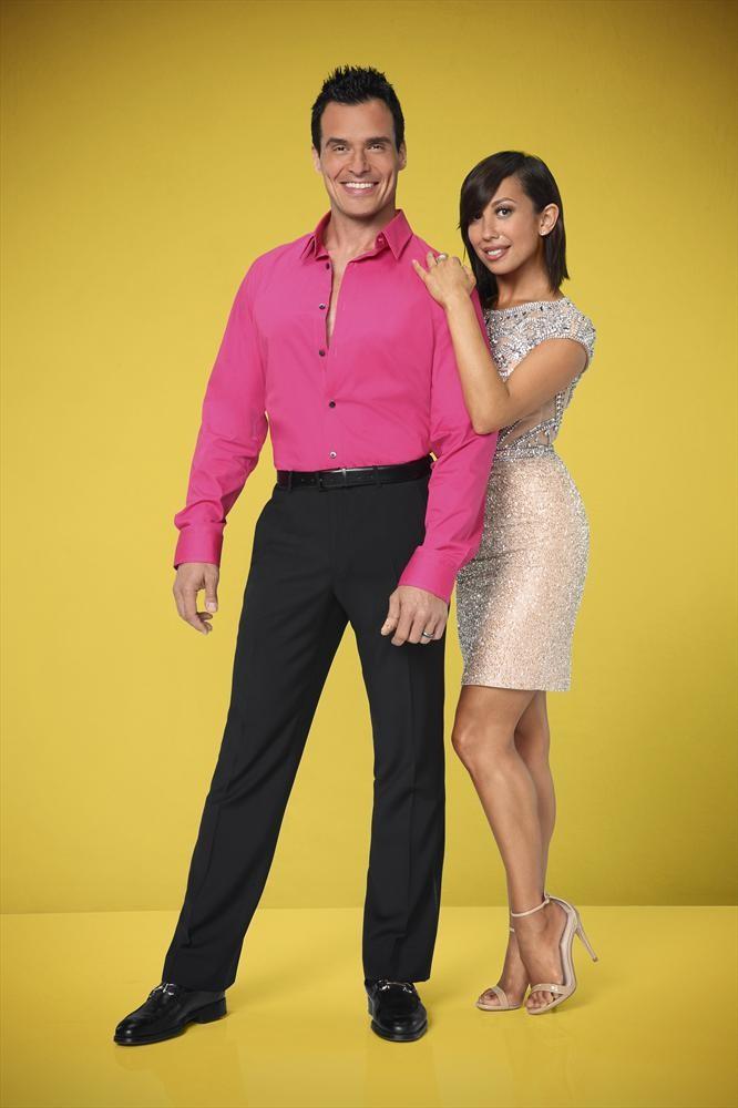 Antonio Sabato Jr  and Cheryl Burke in DANCING WITH THE STARS - Season    Antonio Sabato Jr 2014