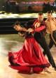 Rumer Willis, Artem Chigvintsev and Val Chmerkovskiy in DANCING WITH THE STARS - Season 10 - Week 8   © 2015 ABC/Adam Taylor