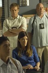 "Michael C. Hall and Jennifer Carpenter in DEXTER - Season 5- ""In the Beginning"" | © 2010 Showtime/Randy Tepper"