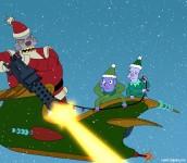 "Robot Santa in FUTURAMA - Season 6 - ""The Futurama Holiday Spectacular"" | © and TM 2010 20th Century Fox"