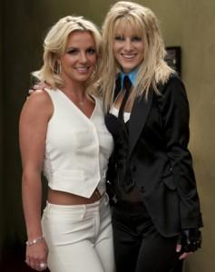 "Britney Spears and Heather Morris in GLEE - Season 2 - ""Britney/Brittany""   ©2010 Fox/Adam Rose"