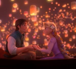 Rapunzel and Flynn in TANGLED | ©Disney Enterprises, Inc.