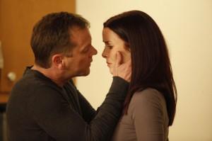 Kiefer Sutherland and Annie Wersching in 24 - Season Eight | ©2010 Fox