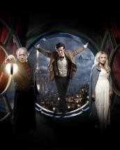 "Michael Gambon, Matt Smith and Katherine Jenkins in DOCTOR WHO - Season Six - ""A Christmas Carol"" | © 2010 BBC"