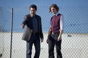 "Joe Mantegna and Matthew Gray Gubler in CRIMINAL MINDS - Season Six - ""Solitary Man"" | ©2010 CBS"