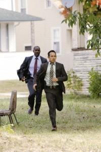 James McDaniel and Shawn Majumder in DETROIT 1-8-7 | ©2010 ABC/Mark H. Preston