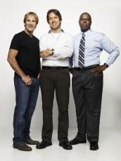 Scott Bakula, Ray Romano and Andre Barugher in MEN OF A CERTAIN AGE - Season Two | ©2010 TNT