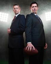 Matt Oberg and Matt Walton in ONION SPORTSDOME - Season One   ©2011 Comedy Central