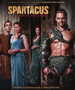 SPARTACUS - GODS OF THE ARENA poster | ©2011 Starz