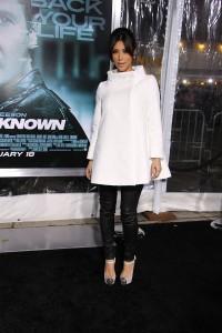 Kim Kardashian at the Los Angeles Premiere of UNKNOWN | ©2011 Sue Schneider