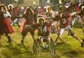 "GLEE performs Michael Jackson's 'Thriller' during the Season 2 episode ""The Sue Sylvester Bowl Shuffle"" | ©2011 Fox/Adam Rose"