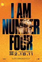 I AM NUMBER FOUR movie poster | ©2011 DreamWorks/Walt Disney Pictures