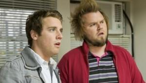 Bret Harrison and Tyler Labine in REAPER | ©2007 ABC Studios