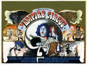 VAMPIRE CIRCUS movie poster | ©1972 Hammer Films