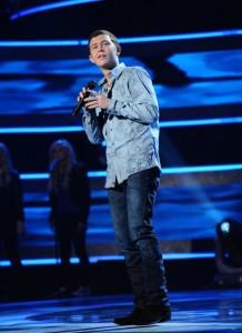 "Scotty McCreery performs on AMERICAN IDOL - Season 10 - ""The Top 13"" | ©2011 Fox/Ray Mickshaw"