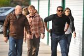 Domenick Lombardozzi, Jimmi Simpson, Malcolm Goodwin & Serinda Swan in BREAKOUT KINGS - Season 1 | ©2011 A&E