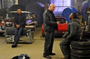 Domenick Lombardozzi and Malcolm Goodwin in BREAKOUT KINGS - Season 1 | ©2011 A&E