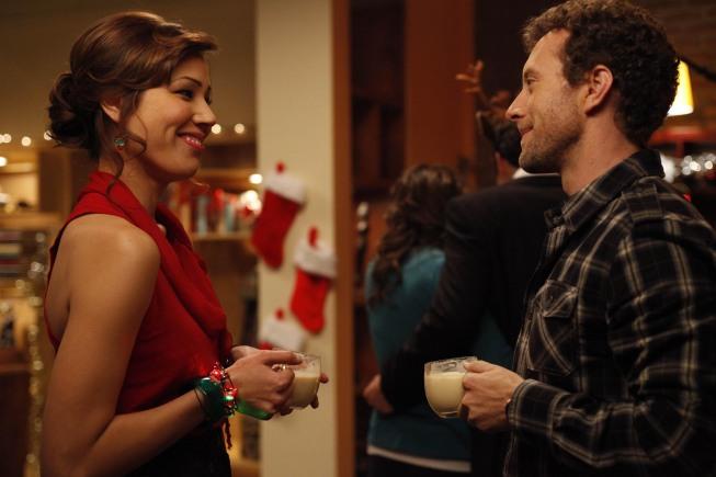 Michaela Conlin and TJ Thyne in BONES - Season 5 -