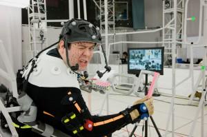 Dan Fogler on the set of MARS NEEDS MOMS | ©2011 ImageMovers Digital LLC./Joseph Lederer