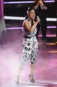 Pia Toscano in AMERICAN IDOL - Season 10 - The Final 9 | ©2011 Fox/Michael Becker