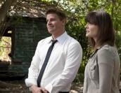 "David Boreanaz and Emily Deschanel in BONES - Season 6 - ""Finder"" | ©2011 Fox/Glenn Watson"