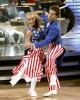 Kendra Wilkinson and Louis Van Amstel in DANCING WITH THE STARS - Season 12 - Week 5 | ©2011 ABC/Adam Taylor