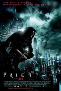 PRIEST movie poster |  ©2011 Sony