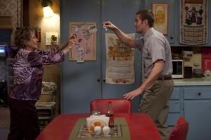 "Cloris Leachman and Garret Dillahunt in RAISING HOPE - Season 1 - ""Romeo and Romeo"" | ©2010 Fox/Ray Mickshaw"
