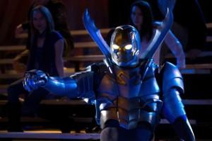 """Jaden Brandt Bartlett as The Blue Beetle in SMALLVILLE - Season 10 - """"Booste""""   ©2011 The CW"""