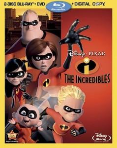 THE INCREDIBLES Blu-ray | © 2011 Walt Disney